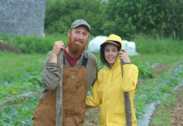 Bryan Dyck and Shannon Jones of Broadfork Farm