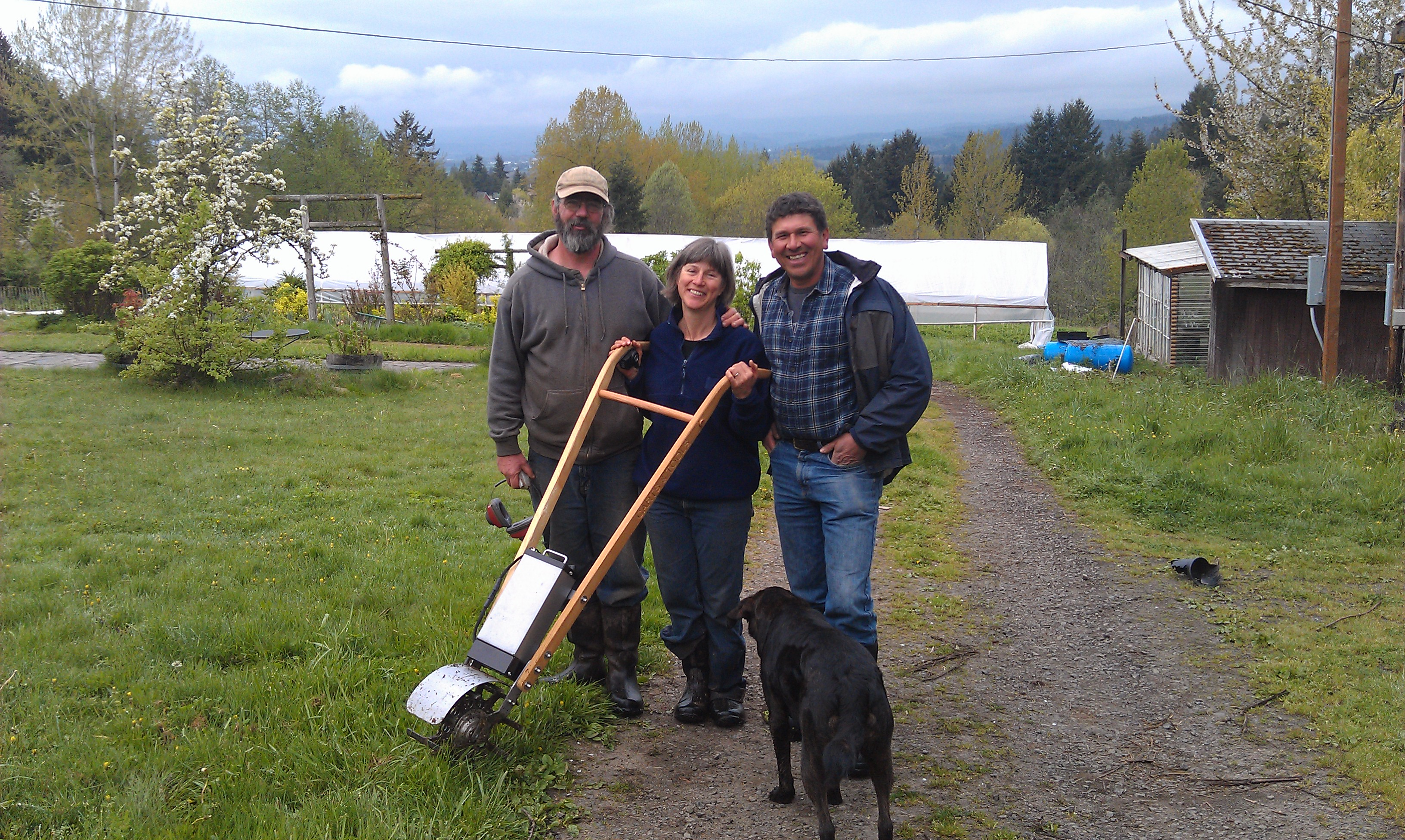 Carts and Tools Visits Pumpkin  Ridge Farm with Tillie
