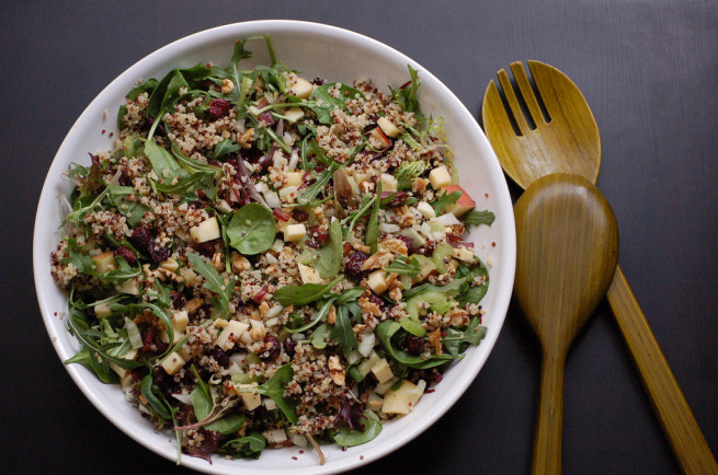Giant Bowl of Quinoa Salad