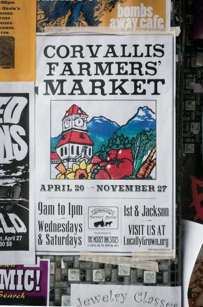 Corvallis Market Poster