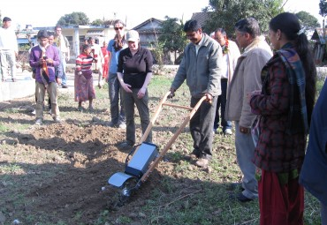 Global Nutrition Empowerment has a local try out Carts and Tools Tillie
