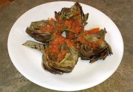 Grilled Artichokes Recipe - Carts and Tools