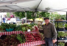 Michael McGowen - Carts and Tools Founder at the Corvallis Farmers Market Community Table