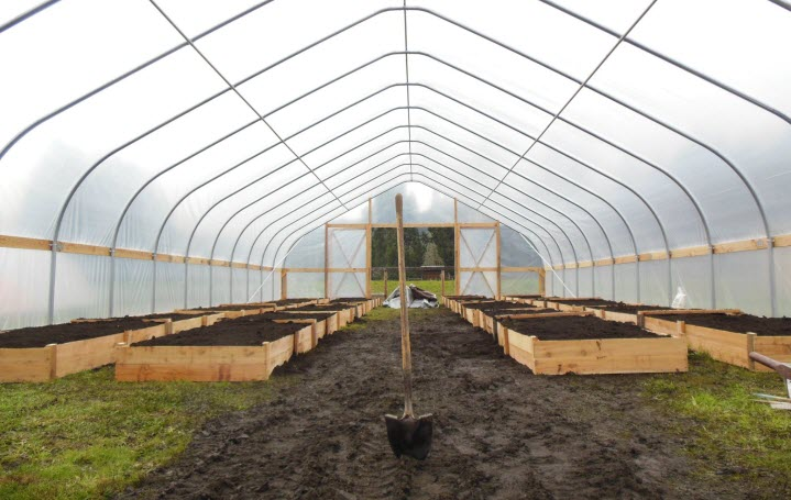 Greenhouse from Southern Willamette Farm Corps Facebook page helping young farmers get started