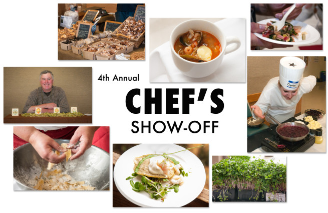 Chef's Show Off Poster