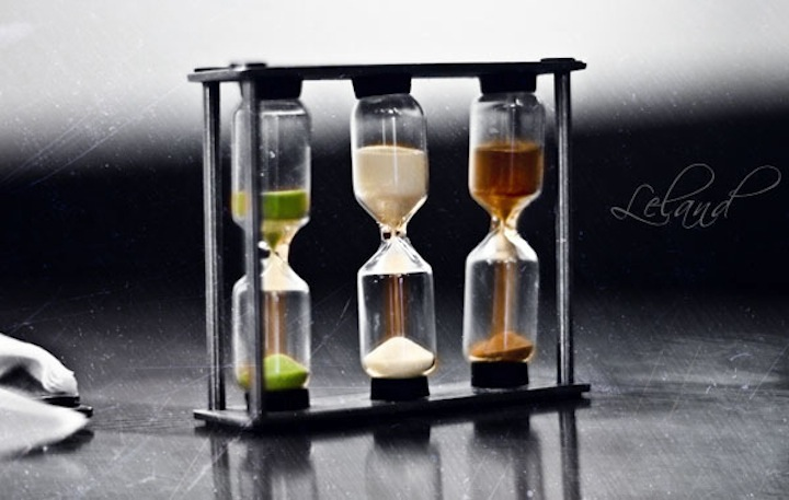 An Elegant Picture of Sand Timers
